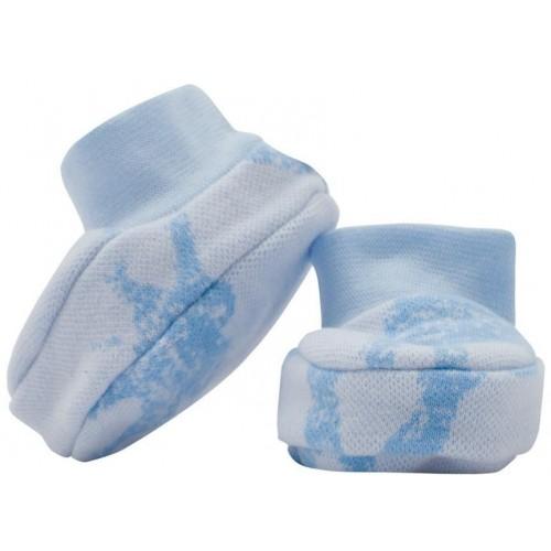 Zimní kojenecké capáčky Baby Service Sloni modré Modrá Univerzální