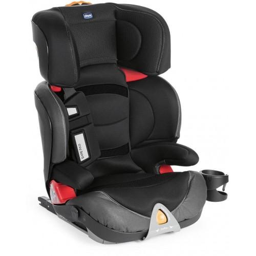 Autosedačka Chicco Oasys 2-3 FixPlus Evo 15-36kg - 2018 Jet Black