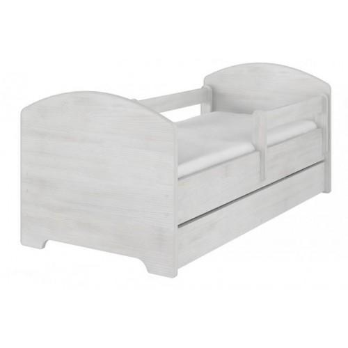 NELLYS Dětská postel HELI v barvě norské borovice s šuplíkem + matrace zdarma , D19, 140x70