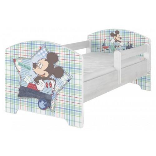 BabyBoo Dětská postel Disney - Mickey Mouse, D19, 140x70