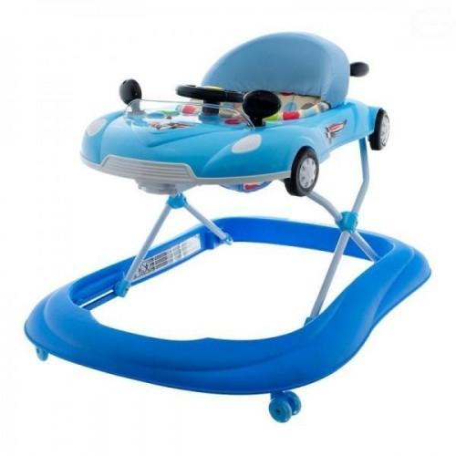 Euro Baby Multifunkční chodítko s volantem - modré, Ce19