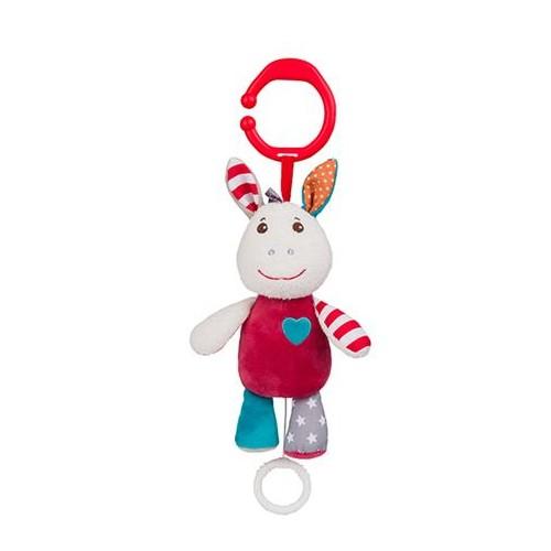 BabyOno Závěsná hračka s vibrací a zvukem Frankie