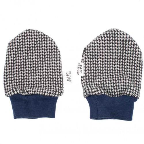 Zimní kojenecké rukavičky Baby Service Retro Šedá 0-6 m