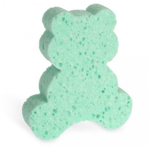 Koupelová houba Junior Natural Calypso zelená