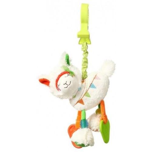 BabyOno Závěsná hračka s vibrací Lama Jane