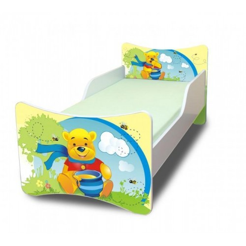 NELLYS Dětská postel Medvídek s medem - 180x80 cm, 180x80