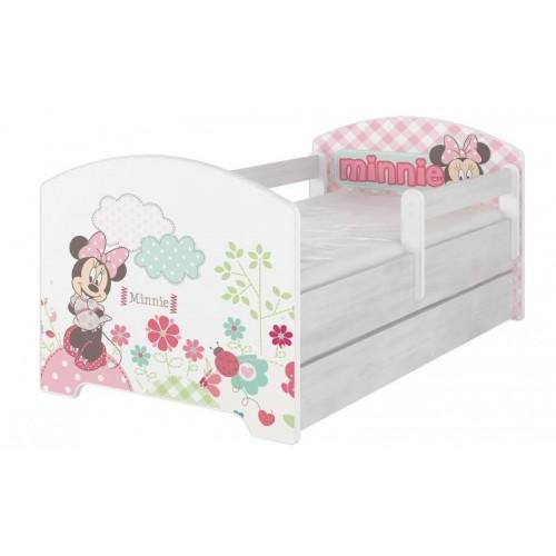 BabyBoo Dětská postel Disney s šuplíkem - Minnie, D19, 140x70