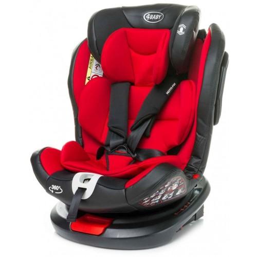 Autosedačka 4baby Roto-fix 0-36 kg Red