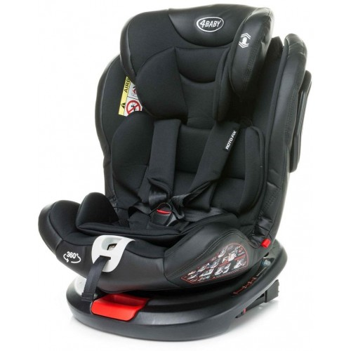 Autosedačka 4baby Roto-fix 0-36 kg Black