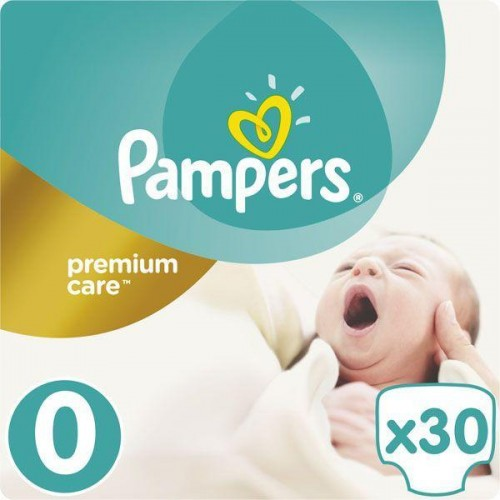 Pleny Premium Care 0 NEWBORN do 2,5kg 30ks Pampers