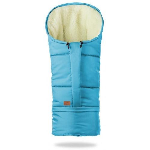 HappyBee zimní fusak Mumi 3v1 ovčí rouno královská tmavě modrá