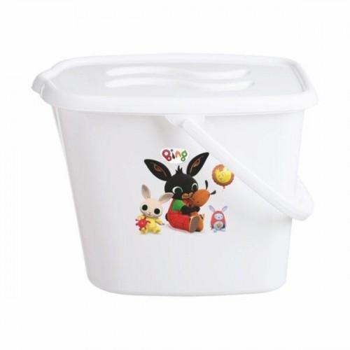 maltex kbelík na plenky  bing - bílý