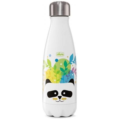 Láhev nerezová termo Chicco Drinky Panda, 350ml