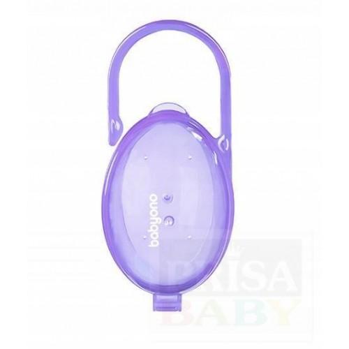 Pouzdro na dudlík fialová
