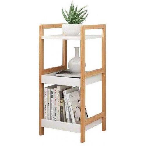 Noční stolek ModernHome bambusové dřevo