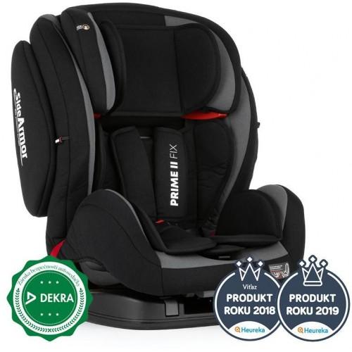 Autosedačka Prime II Isofix Black 9-36 kg Petite&Mars 2019