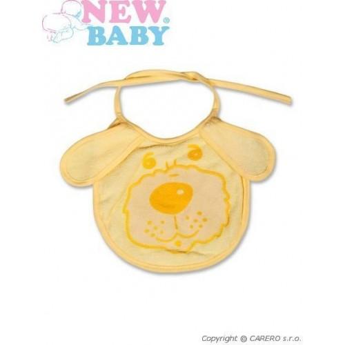 Dětský bryndák New Baby žlutý Žlutá