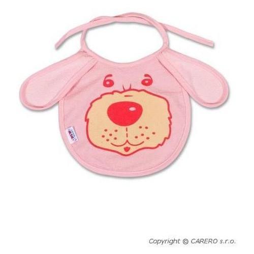Dětský bryndák New Baby růžový Růžová