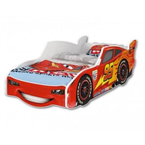 Nellys Dětská postel Super Car McQueen 160 x 80 cm, 160x80