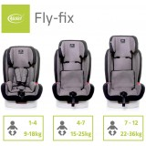 Autosedačka 4Baby Fly-fix ISOFIX 9-36 kg 2021 Black