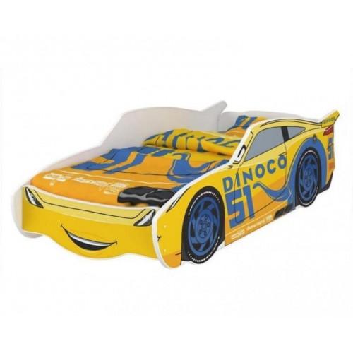 Nellys Dětská postel Super Car DINO 160 x 80 cm, 160x80
