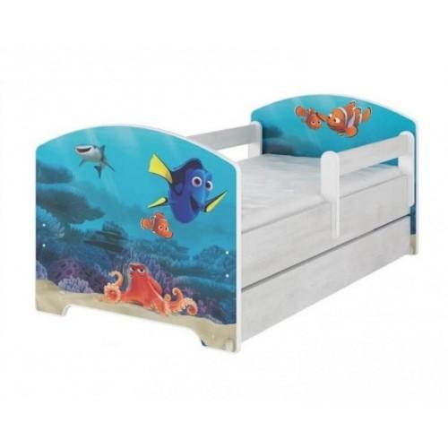 BabyBoo Dětská postel 140 x 70cm -  Dorry, 140x70