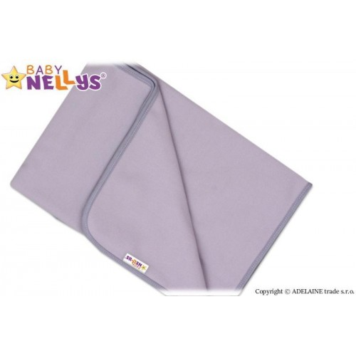 Deka/dečka polar Feel Baby Nellys ® - šedá, 75 x 100 cm