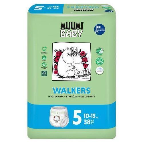 Kalhotky plenkové jednorázové 5 Maxi + 10-15kg 38ks Baby Muumi