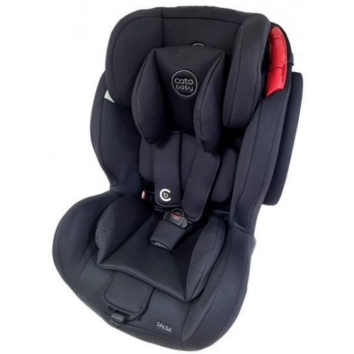 Coto Baby Autosedačka 9-36kg Salsa Pro Isofix - Black/Melagne - 2021