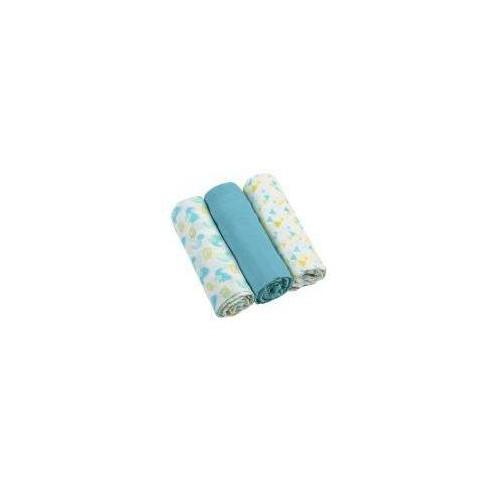 BabyOno Mušelínové měkké plenky 3ks - modré