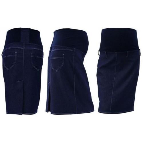Těhotenská sukně jeans SOMI - jeans, XXL (44)