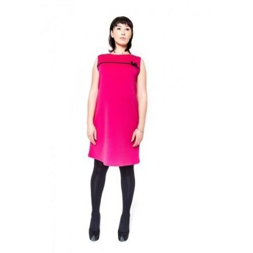 Těhotenské šaty/tunika DIOR - amarant, L/XL