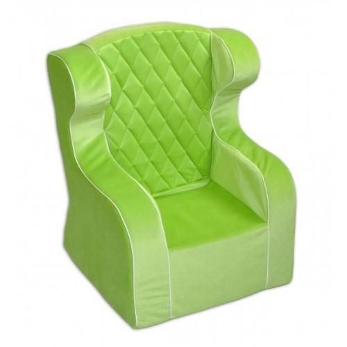 Dětské křesílko/ušák - zelené