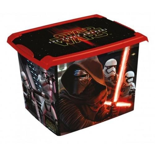 Box na hračky, dekorační  Star Wars  20,5 l - černý