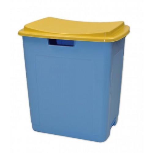 Plastový úložný box na hračky TOY&amp,SIT - modrý