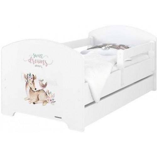 BabyBoo Dětská postel 140 x 70cm -  Sweet Dreams, 140x70