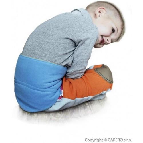 Dětský bederňáček 0-5 let VG modro-limetkový Modrá 0-5 let