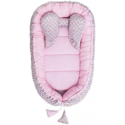 Hnízdečko pro miminko Minky Sweet Baby Belisima růžové