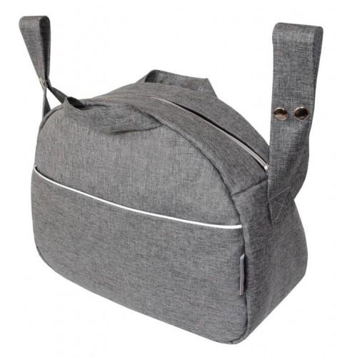 Emitex taška ZITA OXFORD, středně šedá