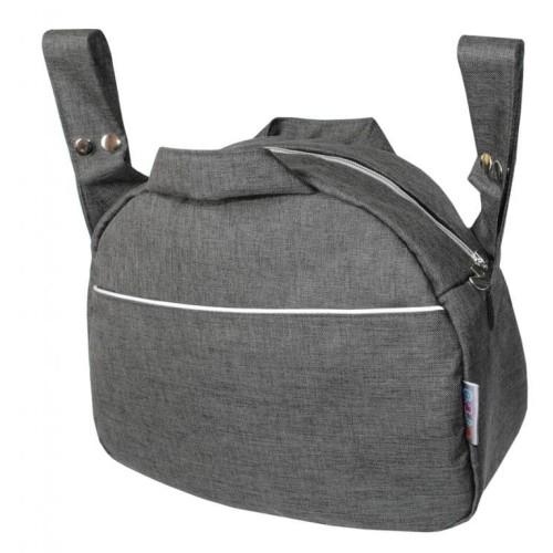 Emitex taška ZITA OXFORD, tmavě šedá