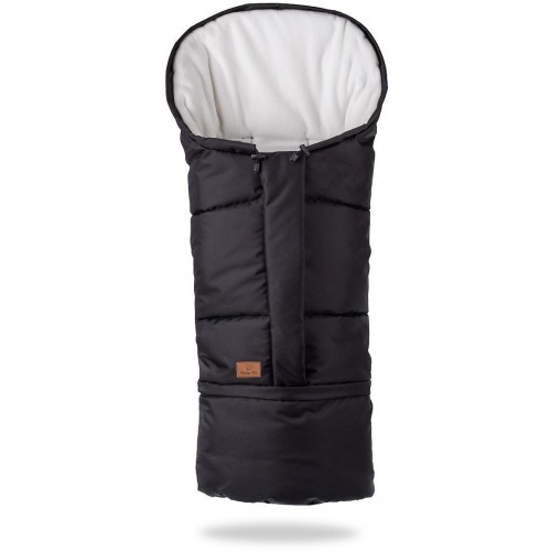 HappyBee zimní fusak  Mumi 3v1 fleece černá