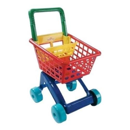 Dětský nákupní košík - tyrkysový