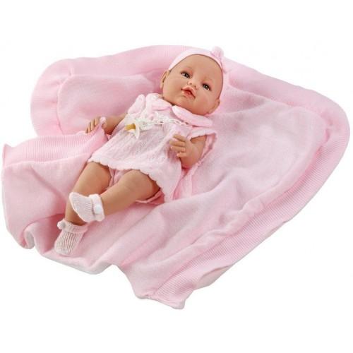 Luxusní dětská panenka-miminko Berbesa Ema 39cm