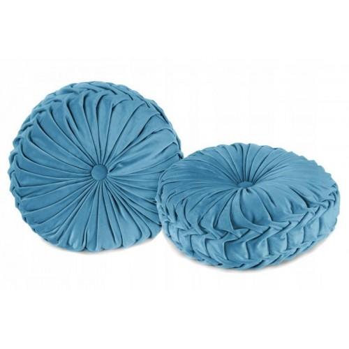 Dekorační polštář Glamour - modrá
