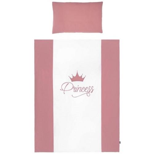 2-dílné ložní povlečení Belisima Royal Baby 90/120 růžové