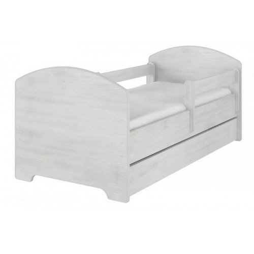 NELLYS Dětská postel HELI v barvě norské borovice s šuplíkem 160x80 + matrace zdarma, D19, 160x80
