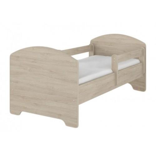 Dětská postel HELI v barvě světlý dub 140x70