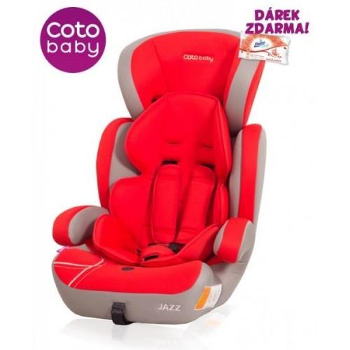 Autosedačka Coto Baby Jazz 9-36kg nr.02 Red 2017