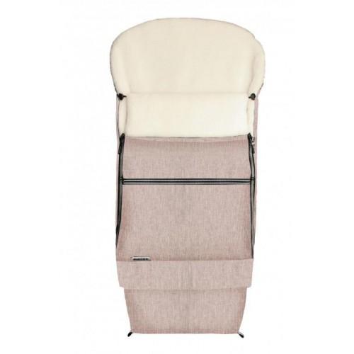 Emitex zimní fusak Combi MERINO hnědý softshell + 100% merino vlna