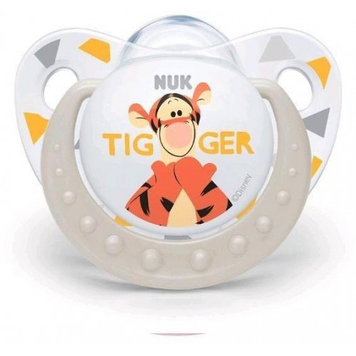 Šidítko NUK Trendline Disney Tigger 6-18m béžové